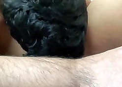 Wipe the floor with my Tamil wife's racy pussy