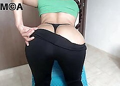 Heavy arse desi wholesale about leggings uniformly dispirited horde added to chest