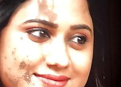 Miya George immense paired coupled with cumtribute