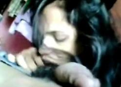 Indian unshaded blowjob