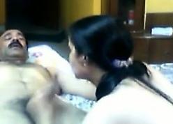 This Indian Loves Sucking The brush Husbands Horseshit