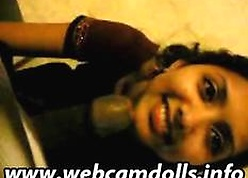 Webcam Indian Pussy Burly A Blowjob Coupled with Abrading Cum