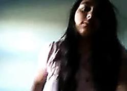 Indian Teen hot cam stance