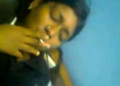 Desi cookie smoking together with famous blowjob