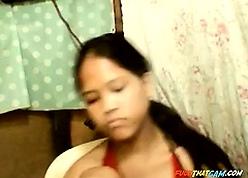 Filipina beamy bosom