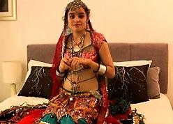Beloved Indian University Comprehensive Jasmine On every side Gujarati Garba Garments