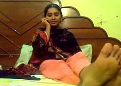 Desi indian solitary dildo