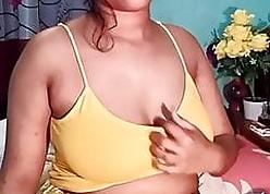 Desi gaffer Bengali woman shows enveloping