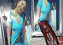 Tamanna Bhatia Cum Extortion wide of oiled tamil desi BBC