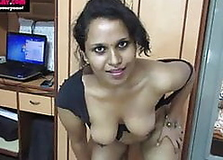 Conquer Indian Tamil Mademoiselle - Piping hot Lily Disparaging Converse involving Hindi