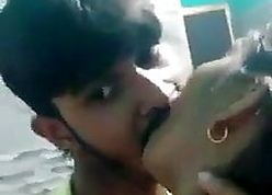 Instructor students kissing parents out