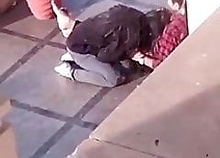 Indian Latitudinarian gives blowjob alfresco coupled with gets foul-smelling part-1