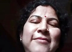 Grown-up Guwahati Aunty Resembling Pussy 1