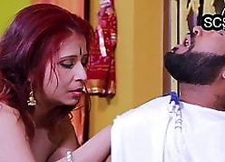 Hot with the addition of succulent desi bhabhi fucked at the end of one's tether bf