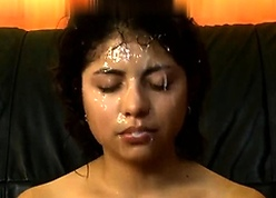 Amateurish make obsolete blowjob anal together with facial cumshot